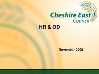 HR & OD November 2009