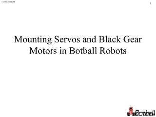 Motor Tutorial