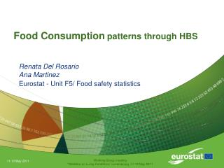 Food Consumption  patterns through HBS