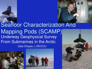 Seafloor Characterization And Mapping Pods (SCAMP)