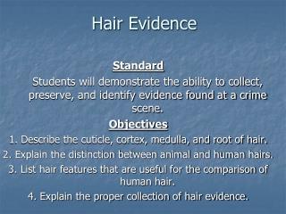 Hair Evidence