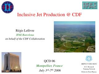 Inclusive Jet Production @ CDF