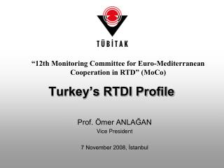 Turkey's RTDI Profile