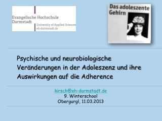 kirsch@eh-darmstadt.de 9. Winterschool  Obergurgl , 11.03.2013
