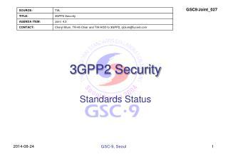 3 GPP2 Security