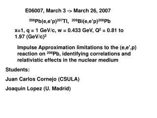 E06007, March 3 -> March 26, 2007