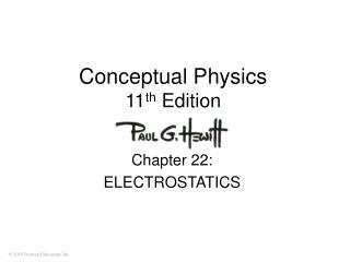 Conceptual Physics 11 th  Edition