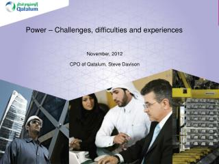 Power – Challenges, difficulties and experiences
