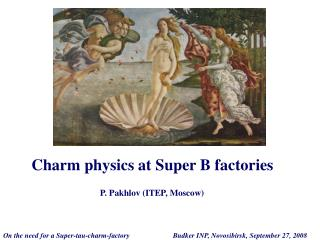 Charm physics at Super B factories