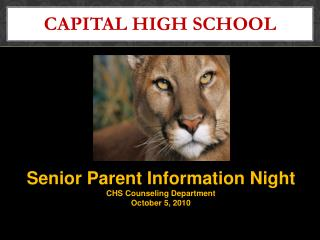CAPITAL HIGH SCHOOL