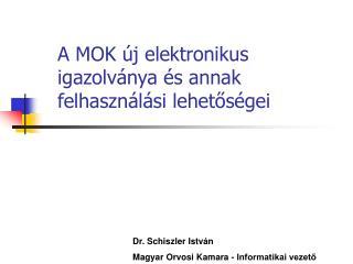 A MOK új elektronikus igazolványa és annak felhasználási lehetőségei