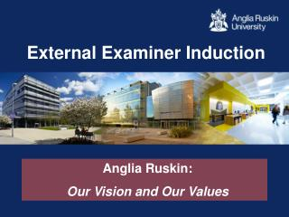 External Examiner Induction
