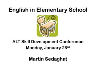 English in Elementary School