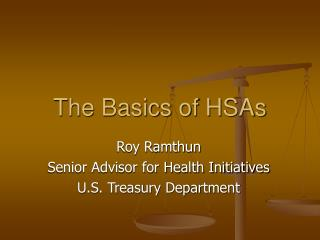 The Basics of HSAs