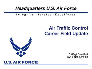 Air Traffic Control Career Field Update