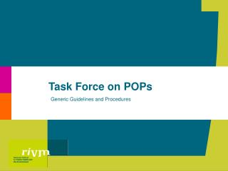 Task Force on POPs