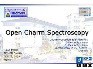 Open Charm Spectroscopy