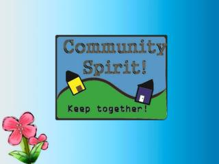 What is Community Spirit?