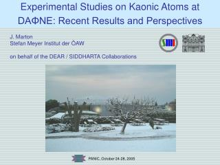 Experimental Studies on Kaonic Atoms at DAΦNE: Recent Results and Perspectives