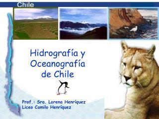 Hidrografía y Oceanografía  de Chile