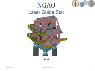 NGAO Laser Guide Star Mechanical