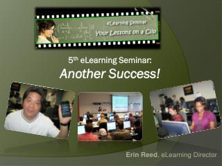 2007 eLearning Seminar
