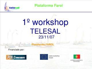 1º workshop TELESAL