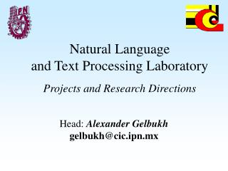 Natural Language and Text Processing Laboratory Projects and Research Directions