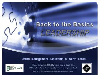 Urban  Management  Assistants  of  North  Texas