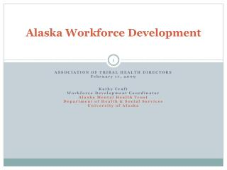 Alaska Workforce Development