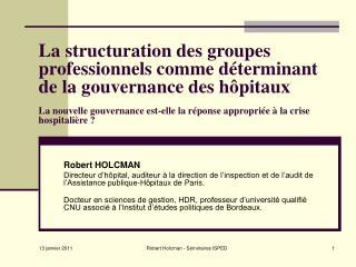 Robert HOLCMAN