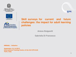 Skill surveys for  current  and  future  challenges: the impact for adult learning policies