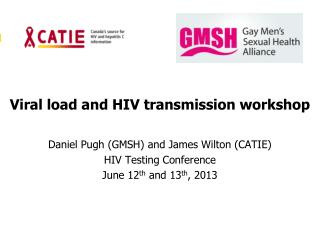 Viral load and HIV transmission workshop