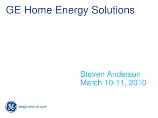 GE Home Energy Solutions