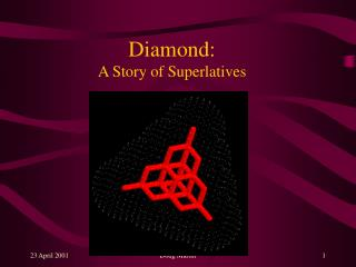 Diamond:  A Story of Superlatives