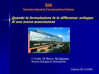 Sifi Società Industria Farmaceutica Italiana