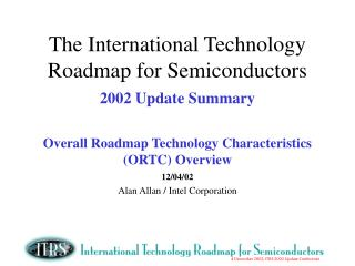 12/04/02 Alan Allan / Intel Corporation