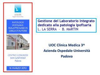 UOC Clinica Medica 3^ Azienda Ospedale-Università Padova