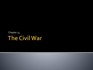 Chapter 16:  Total War  and the Republic 1861-1865