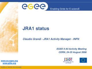 JRA1 status