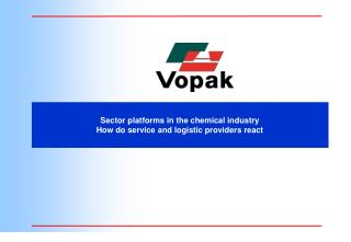 Sector platforms in the chemical industry