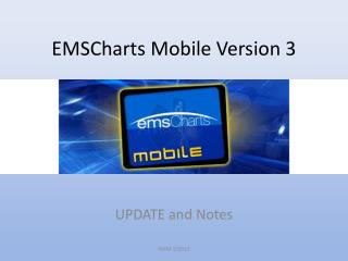 EMSCharts Mobile Version 3