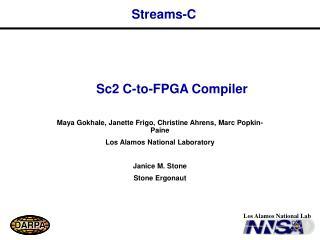 Streams-C