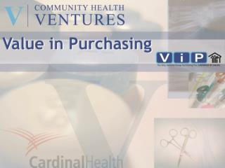 What is CHV?   Why is CHV needed?