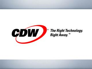Who is CDW?