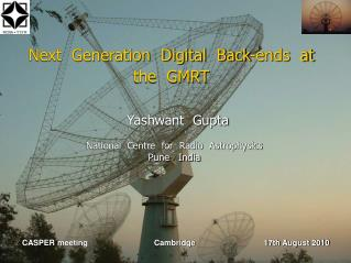 Next  Generation  Digital  Back-ends  at  the  GMRT