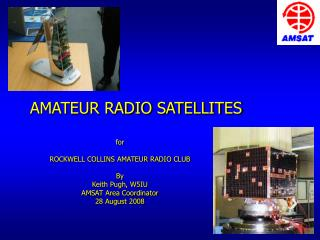 AMATEUR RADIO SATELLITES