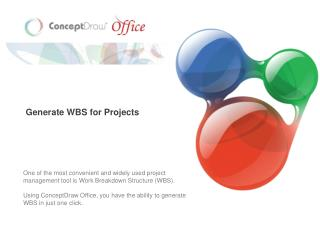 Generate WBS for Projects