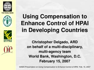 Using Compensation to Enhance Control of HPAI in Developing Countries