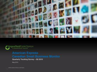 American Express Canadian Small Business Monitor